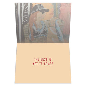 Best Wave Greeting Card