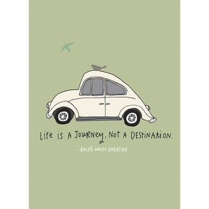 Life Journey Anniversary Greeting Card 6 pack