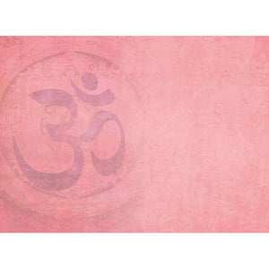 Pink Om All Occasion Greeting Card 6 pack