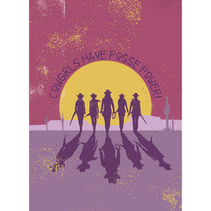 Posse Power Greeting Card