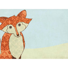 Load image into Gallery viewer, Whimsical Fox All Occasion Greeting Card 6 pack