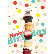 Load image into Gallery viewer, Mouse Wishes Birthday Greeting Card 6 pack
