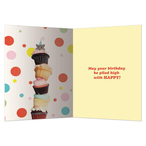 Mouse Wishes Birthday Greeting Card 6 pack