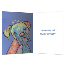 Load image into Gallery viewer, Sun Moon Stars Birthday Greeting Card 6 pack