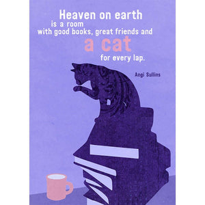 Heaven On Earth Birthday Greeting Card 6 pack
