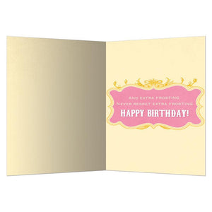Extra Frosting Greeting Card