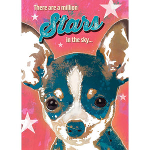 Million Stars Greeting Card