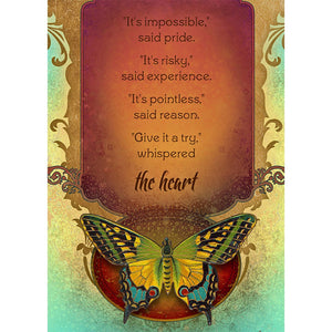Not Impossible Encouragement Greeting Card 6 pack
