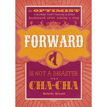 Load image into Gallery viewer, Cha Cha Optimist Greeting Card