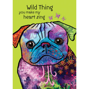 Wild Thing Love Greeting Card 6 pack