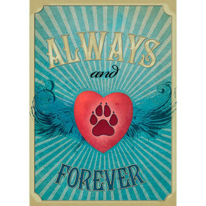 Send This Friends Forever Pet Sympathy Card