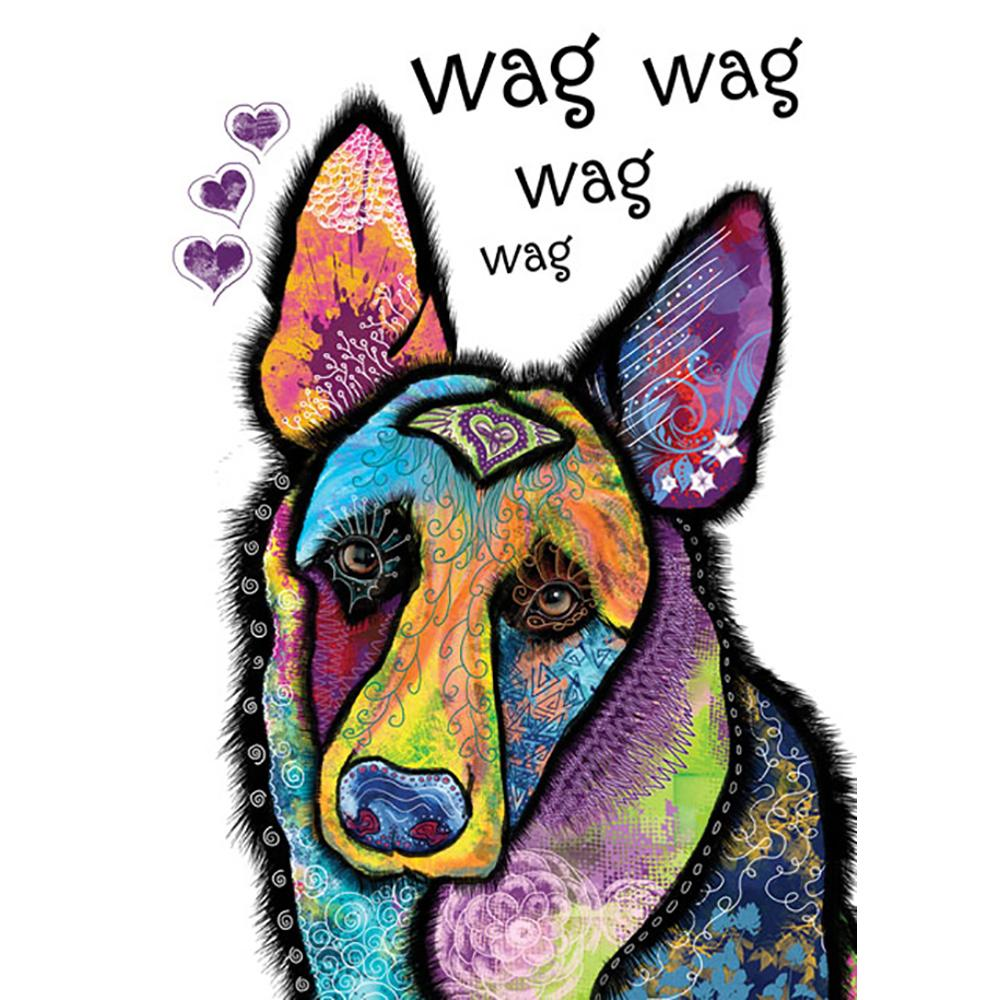 Wag Wag Greeting Card