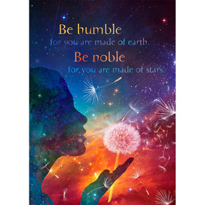 Be Humble All Occasion Greeting Card 6 pack