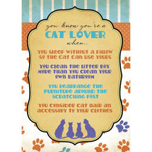 Load image into Gallery viewer, Cat Lover Greeting Card