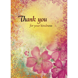 Kindness Thanks Thank You Greeting Card 6 pack