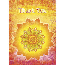 Load image into Gallery viewer, Tangerine Thanks Thank You Greeting Card 6 pack