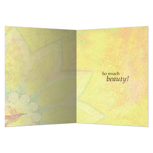 So Much Beauty Greeting Card
