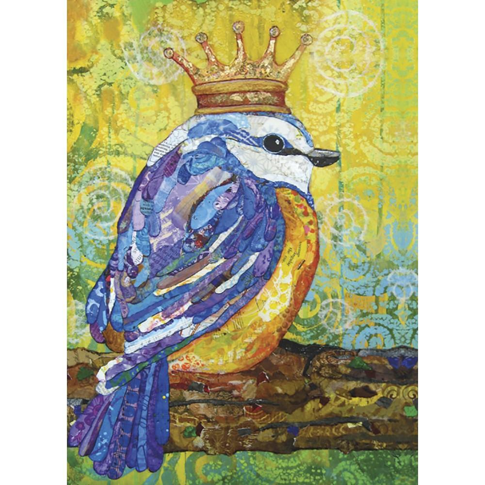 Royal Celebration Birthday Greeting Card 6 pack