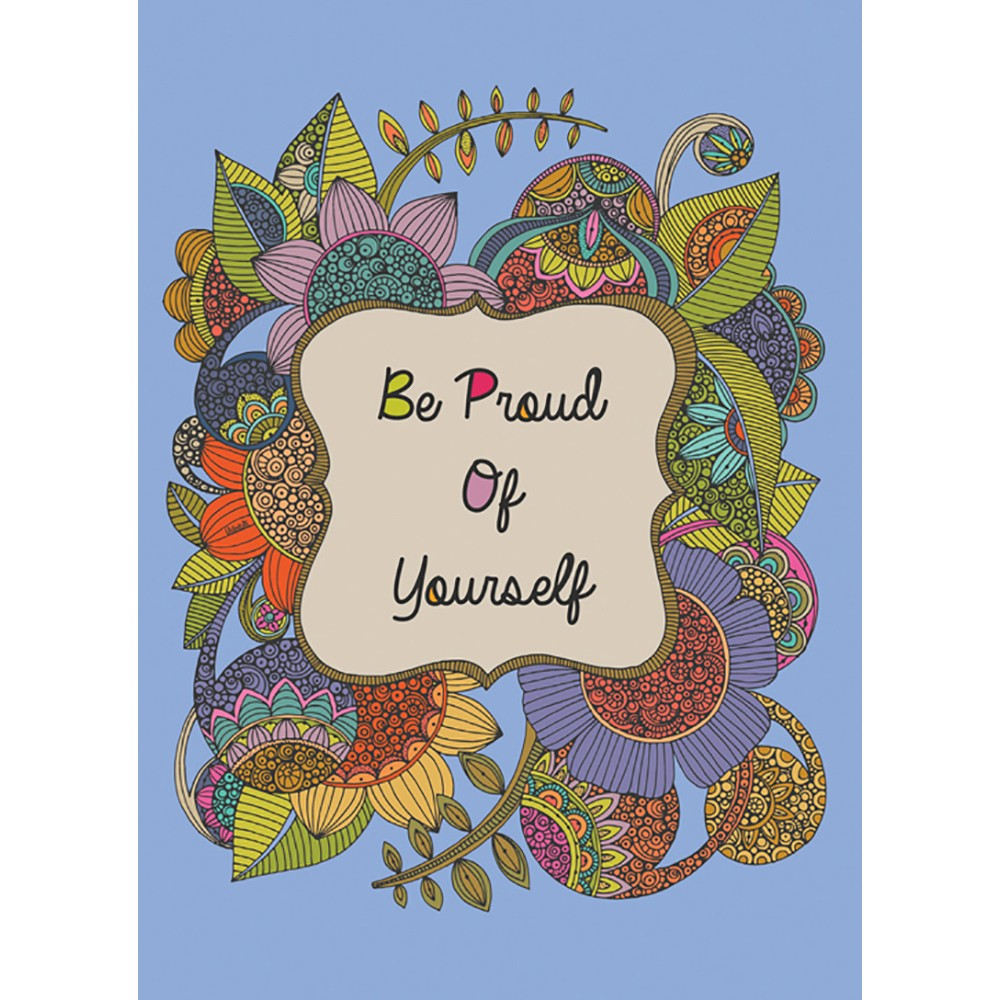 Be Proud Graduation Greeting Card 4 pack