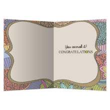 Load image into Gallery viewer, Be Proud Graduation Greeting Card 4 pack