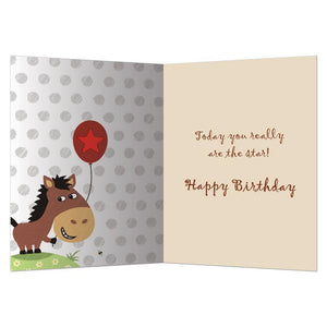 Twinkle Pony Greeting Card