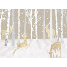 Load image into Gallery viewer, Silent Wood Holiday Greeting Card 4 pack