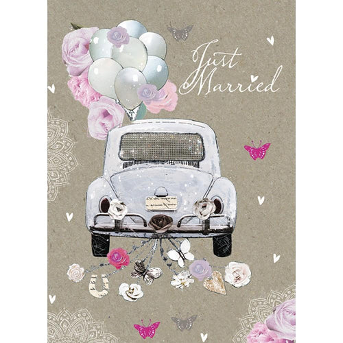 Send This Just Married Wedding Card