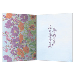 Perennial Joy Support Greeting Card 6 pack