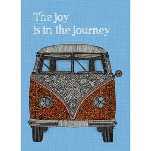 Joy Journey Graduation Greeting Card 4 pack