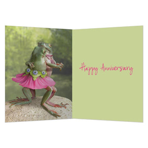 Dance On Anniversary Greeting Card 6 pack