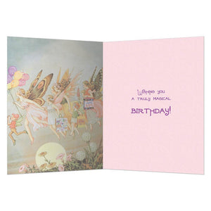 Fairie Celebration Birthday Greeting Card 6 pack