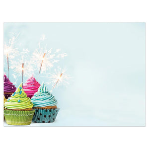 Extra Sparkly Birthday Greeting Card 6 pack