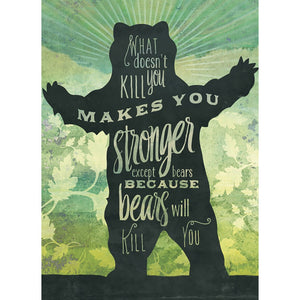 Makes You Stronger Get Well Greeting Card 6 pack