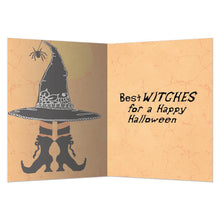 Load image into Gallery viewer, Witch Way Greeting Card 6 Pack