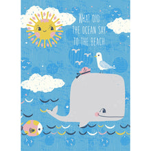 Load image into Gallery viewer, Ocean Friends Friendship Greeting Card 6 pack