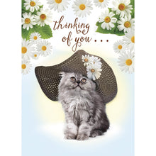 Load image into Gallery viewer, Easter Bonnet Easter Greeting Card 4 pack