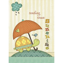 Load image into Gallery viewer, Sending Sunshine Get Well Greeting Card 6 pack