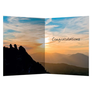 Dare To Live Graduation Greeting Card 4 pack