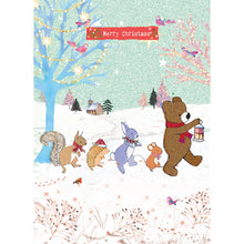 Load image into Gallery viewer, Christmas Parade Christmas Greeting Card 4 pack