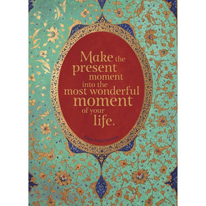 Make The Present Moment Birthday Greeting Card 6 pack
