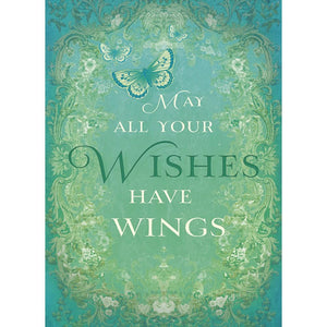 May All Your Wishes Birthday Greeting Card 6 pack