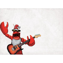 Load image into Gallery viewer, Rock Lobster Christmas Christmas Greeting Card 4 pack