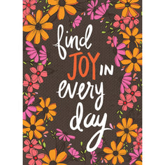 Load image into Gallery viewer, Joy In Every Day All Occasion Greeting Card 6 pack