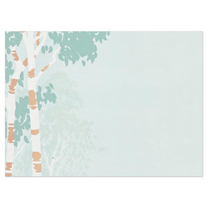 Vintage Birch All Occasion Greeting Card 6 pack