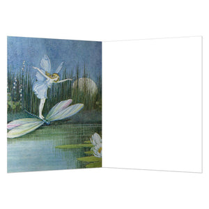 Fairy Dragonfly All Occasion Greeting Card 6 pack