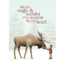 Load image into Gallery viewer, Magic And Wonder Holiday Greeting Card 4 pack