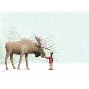 Magic And Wonder Holiday Greeting Card 4 pack