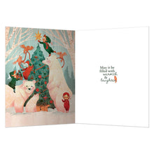Load image into Gallery viewer, Christmas Laughter Christmas Greeting Card 4 pack