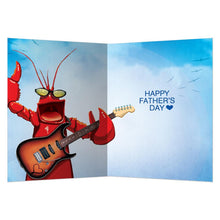 Load image into Gallery viewer, Dad Rocks Father's Day Greeting Card 4 pack