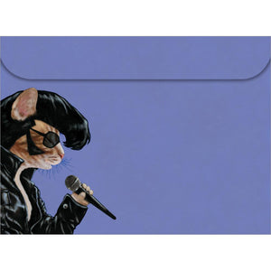 Elvis Cat All Occasion Greeting Card 6 pack